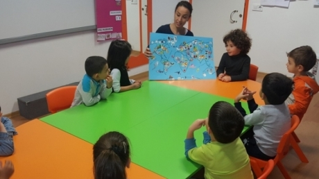 Okul Öncesi Mercan Grubu Öğrencileri Aile Katılım Çalışmasında