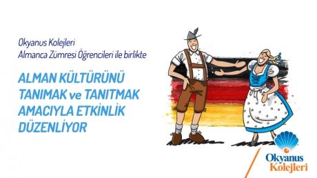 Okyanus Koleji Almanca Zümresi Öğrencileri ile birlikte Alman Gününü kutluyor