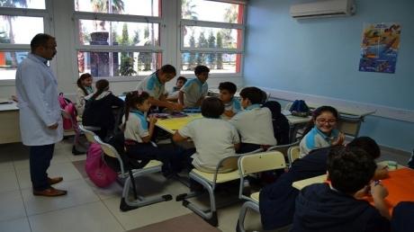 5. Sınıf Öğrencileri Etkinliğe Doymuyor