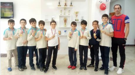Ortaokul Kademesi Sınıflar Arası Futbol Turnuvaları Sonuçlandı