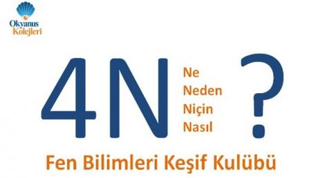 4N Fen Bilimleri Keşif Kulübü