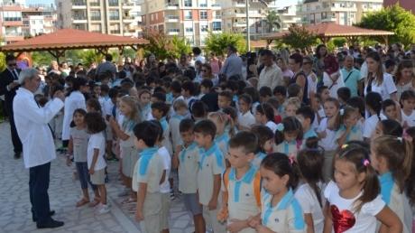 Antalya Konyaaltı Okyanus Kolejinde Öğrencilerin İlk Gün Heyecanı