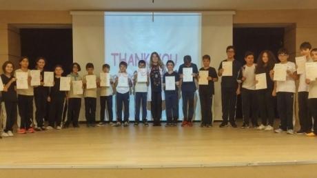 Öğrencilerimiz Uluslararası Yabancı Dil Sertifikalarını Almanın Heyecanını Yaşadılar