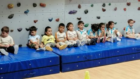 Beykent Okul Öncesi Güneş Sınıfı Beceri Koordinasyon Etkinliğinde