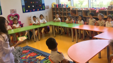 Beykent Okyanus Koleji Okul Öncesi Balıklar Sınıfı Türkçe Dil Etkinliği  Dersinde