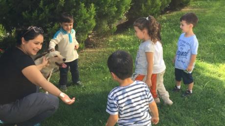 Beykent  Okyanus Koleji Okul Öncesi Çiçekler Grubu Aile Katılımı Etkinliğinde.