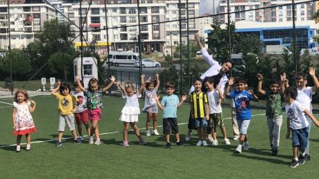 Beykent  Okyanus Koleji Okul Öncesi Gökkuşağı  Grubu Türkçe Dil Etkinliğinde