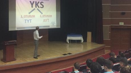 Beylikdüzü Okyanus Anadolu Lisesi ''11. ve 12.Sınıflara YKS Sistemi Sunumu''