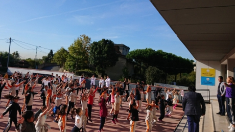 Çekmeköy Öğrencileri Sabah Sporu ile Güne Başlıyor