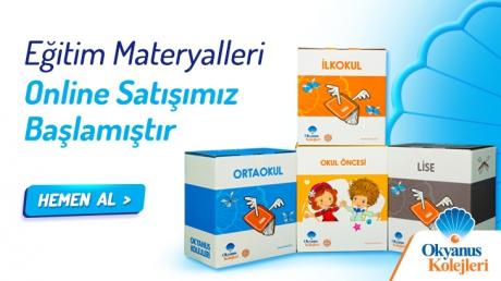Eğitim Materyalleri Online Satışımız Başlamıştır