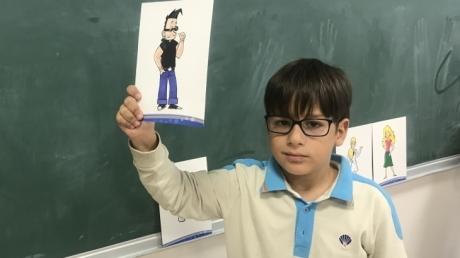 Eryaman Okyanus Koleji İlkokul Kademesi 2. Sınıf Öğrencileri Main Course Dersinde Karakterleri Tanıyor