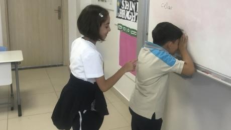 Eryaman Okyanus Koleji İlkokul Kademesi 3. Sınıf Öğrencileri Main Course Dersinde 2 Basamaklı Sayıları Tekrar Ediyor