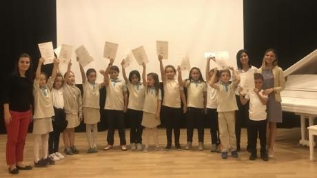 Eryaman Okyanus Koleji İlkokul Kademesi Öğrencilerinin Cambridge Sertifika Heyecanı