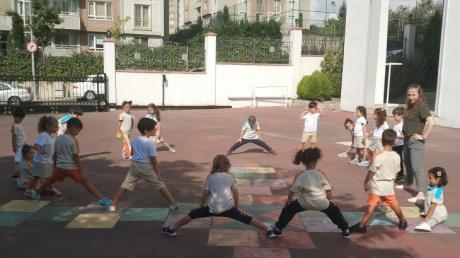 Halkalı Okul Öncesi Güneş Grubu Oyun Etkinliğinde.
