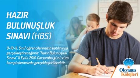 Hazır Bulunuşluk Sınavı (HBS)