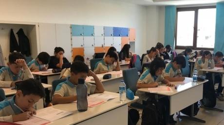 İncek Kampüsü Ortaokul kademesinde HBS (Hazır Bulunuşluk Sınavı) yapıldı.
