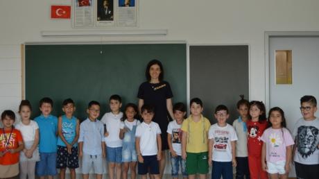 İncek Okyanus Koleji Birinci Sınıf Öğrencileri İçin İlk Ders Zili Çaldı!