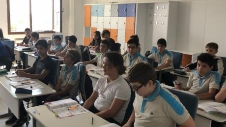 İncek Okyanus Ortaokulu Okula Dönüş Programı