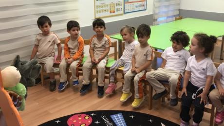 Okul Öncesi Kuşlar Grubu Türkçe Dersinde