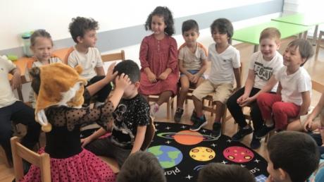 Okul Öncesi Yıldızlar Grubu Oyun Dersinde