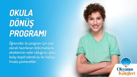 Okula Dönüş Programı