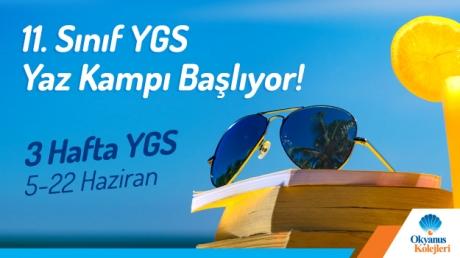 11. Sınıf YGS Yaz Kampı Başlıyor