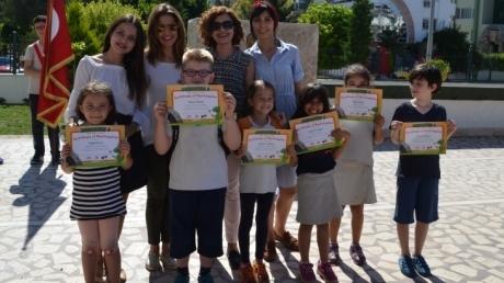 'READASAURUS' Yarışması Sertifikaları Verildi