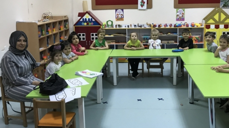 Avcılar Kuşlar Grubu Öğrencileri Aile Katılımı Etkinliğinde