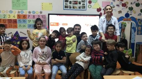 Avcılar Yıldızlar Sınıfı  Öğrencileri Aile Katılımı Etkinliğinde;
