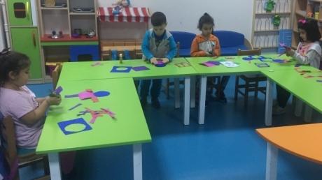 Avcılar Yunuslar Grubu Öğrencileri Sanat Etkinliğinde
