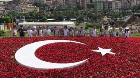 Bahçeşehir Okyanus Koleji İlkokul 1/A 1/B Ve 1/C sınıfı öğrencileri  Miniatürk Gezisinde.