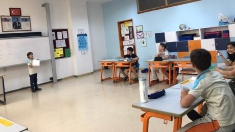 Bahçeşehir Okyanus Koleji Üstün Zekâlılar Ve Yetenekliler İlkokulu 4-E Sınıfı Türkçe Dersinde