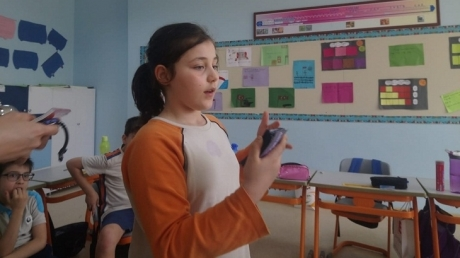 Bahçeşehir Okyanus Koleji Üstün Zekâlılar ve Yetenekliler İlkokulu 4-F Astro-Tabu Oyununu Oynadılar.