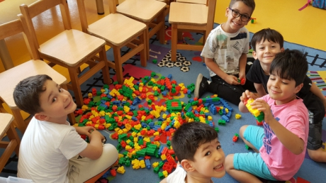 Beykent Okyanus Koleji Okul Öncesi Güneş  Grubu Öğrencileri Oyun Etkinliğinde