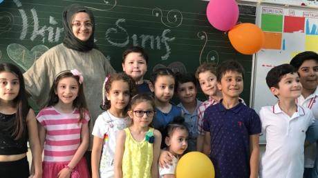 Beylikdüzü Kampüsü İlkokul Kademesinde Karne Heyecanı