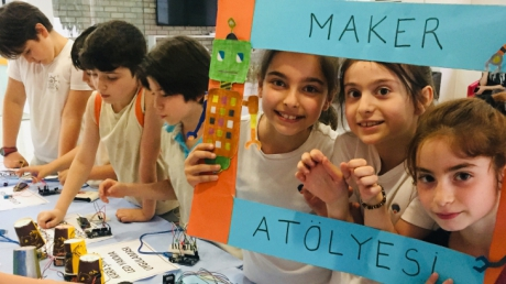 Beylikdüzü Okyanus Koleji '' Maker Sergisi ''