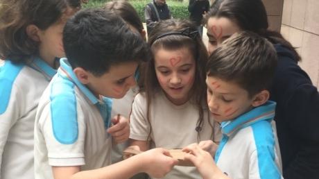Bornova Okyanus İlkokul Öğrencileri İngilizce Branş Gezisinde