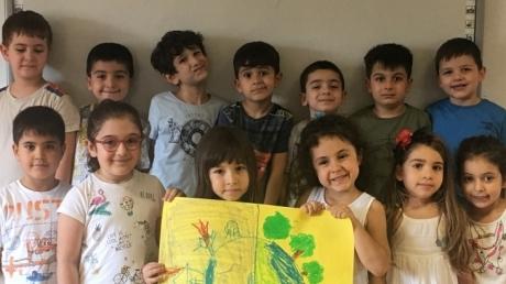 Bulutlar Grubu Türkçe Dili Etkinliğinde