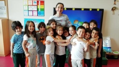Çekmeköy Okul Öncesi Yıldızlar Grubu Drama Dersinde