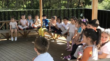 Çekmeköy Okyanus Koleji Okul Öncesi Balıklar Grubu Türkçe Etkinliğinde