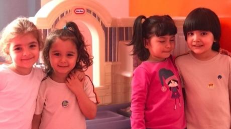 Çekmeköy Okyanus Koleji, Okul öncesi Çiçekler Grubu Oyun Saatinde