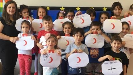 Çekmeköy Okyanus Koleji Yıldızlar Grubu Aile Katılım Etkinliğinde