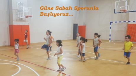 Çekmeköy Okyanus Kolejinde Yaz Spor Okulları Eğlenceli Aktiviteler İle Başladı.