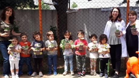 Çiçekler Grubu Aile Katılımı Etkinliğinde