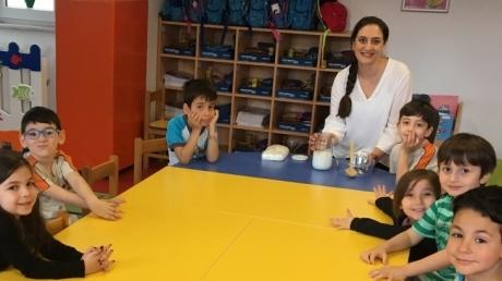 Gökkuşağı Grubu Öğrencileri Aile Katılım Etkinliğinde