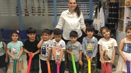 Halkalı  Okul Öncesi Öğrencileri  İlgi Ve Yetenek Kulüplerinde