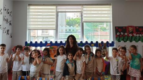 Halkalı Okul Öncesi Yıldızlar Grubu  Aile Katılımı Etkinliğinde