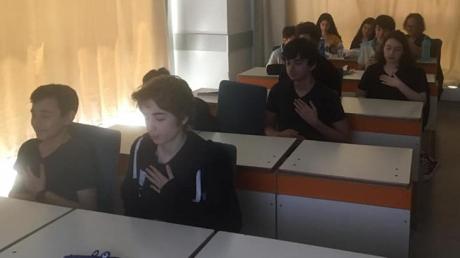 Halkalı Okyanus Koleji 8.Sınıf Öğrencilerimize 'Sınav Öncesi ve Sınav Anında Dikkat Etmeleri Gerekenler' Sunumu