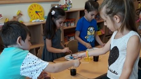 Mavişehir Okyanus Koleji Okul Öncesi Çiçekler Grubu Aile Katılım Etkinliğinde