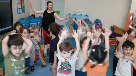 Mavişehir Okyanus Koleji Okul Öncesi Yunuslar Grubu Aile Katılım Etkinliğinde